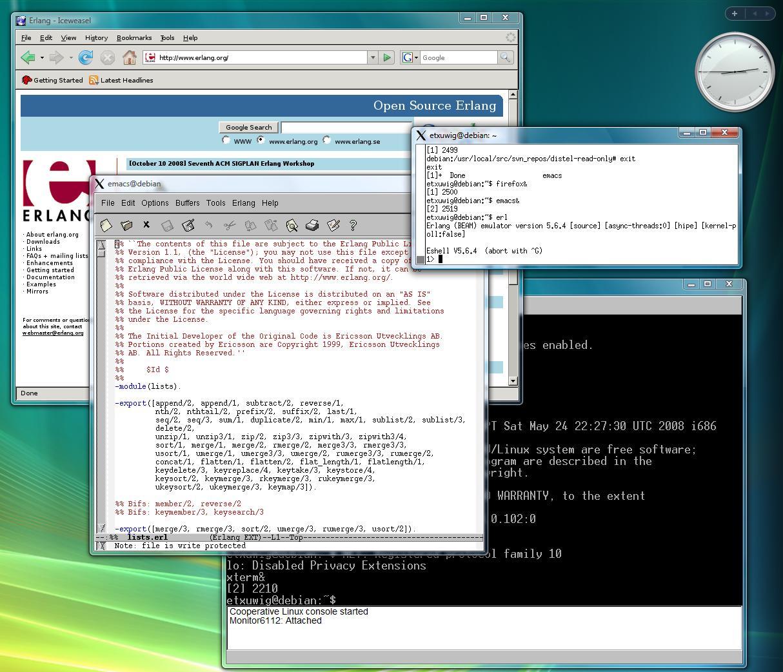 coLinux on Vista